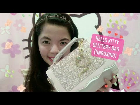 Hello Kitty Bag - Glittery (unboxing) 👛💕