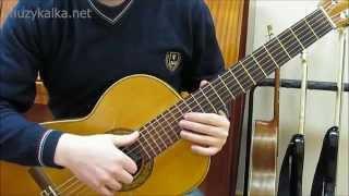 КИНО (В. Цой) - Пачка сигарет, соло, разбор на гитаре (1 ч.)