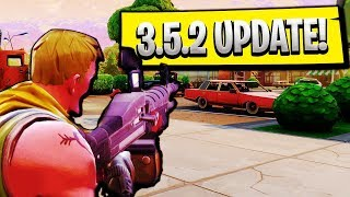 Fortnite NEW 3.5.2 LMG GAMEPLAY UPDATE! Fortnite Battle Royale 3.5 Patch Notes + LMG Gameplay