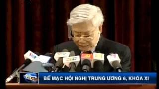 [VTV3] Tổng bí thư Nguyễn Phú Trọng nghẹn ngào tại Hội nghị 6 Ban Chấp hành TW