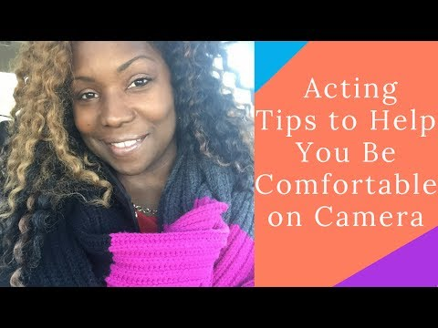 Professional performer tips to help you on camera