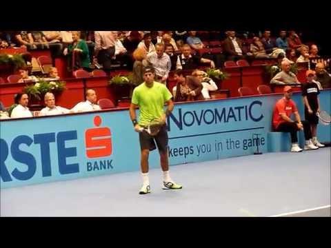 Juan Martin del Potro & Marinko Matosevic - ATP Vienna -- Erste Bank Open 2012