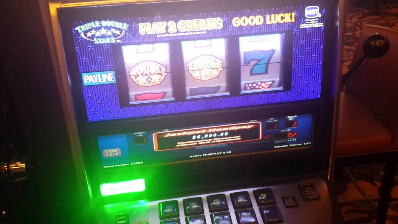 triple double stars slot machine