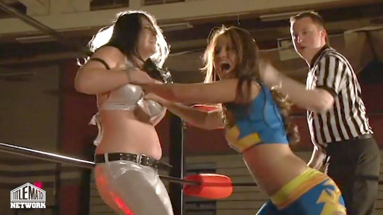 Download Annie Social vs Alexxis Nevaeh (Women's Wrestling) Bombshell Ladies of Wrestling