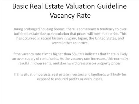 vacancy-rate-real-estate-assessment-method