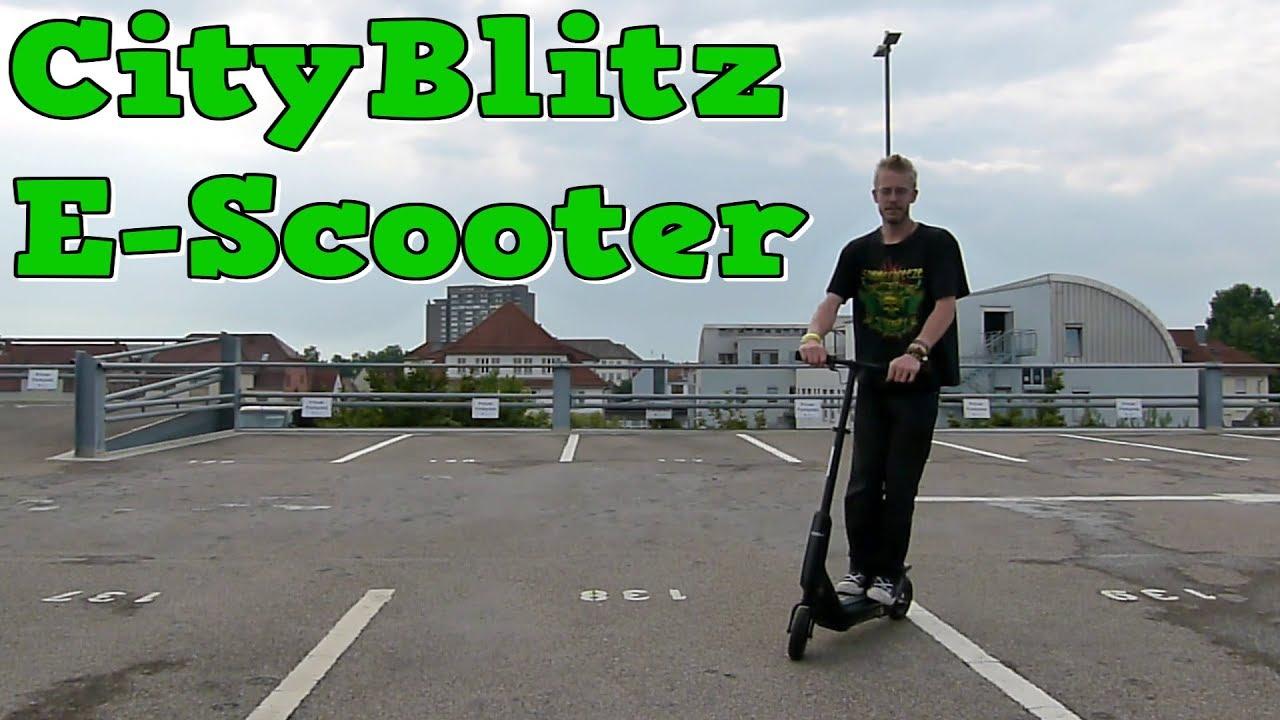 e mobility der cityblitz cb009 e scooter youtube. Black Bedroom Furniture Sets. Home Design Ideas