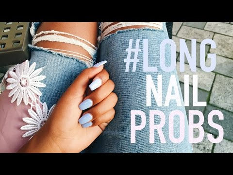 7 Things Girls with Long Nails Experience