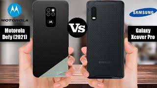 Motorola Defy 2021 vs Samsung Galaxy Xcover Pro