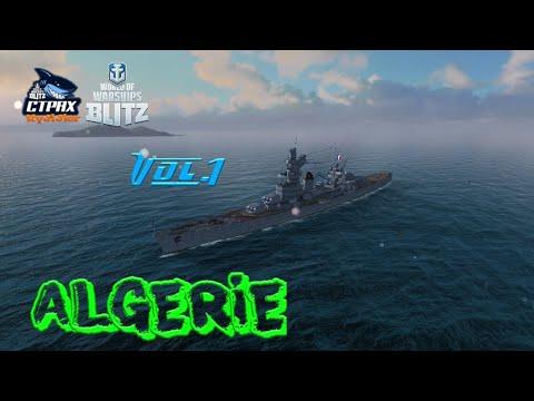 WOWS BLITZ ФЛОТ СТРАХ: Algerie VII