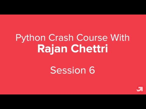 Python Crash Course Part 6 | Python Tutorial for Beginners with examples | upGrad thumbnail