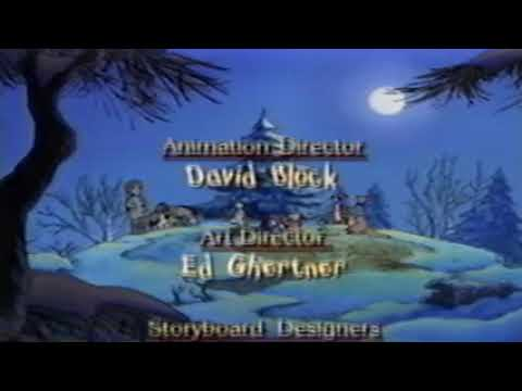 Closing To Winne The Pooh Seasons Of Giving 1999 VHS