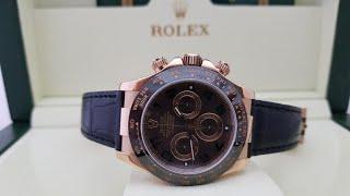 непревзайденная роскошь и надёжность часов Rolex Daytona 116515LN !