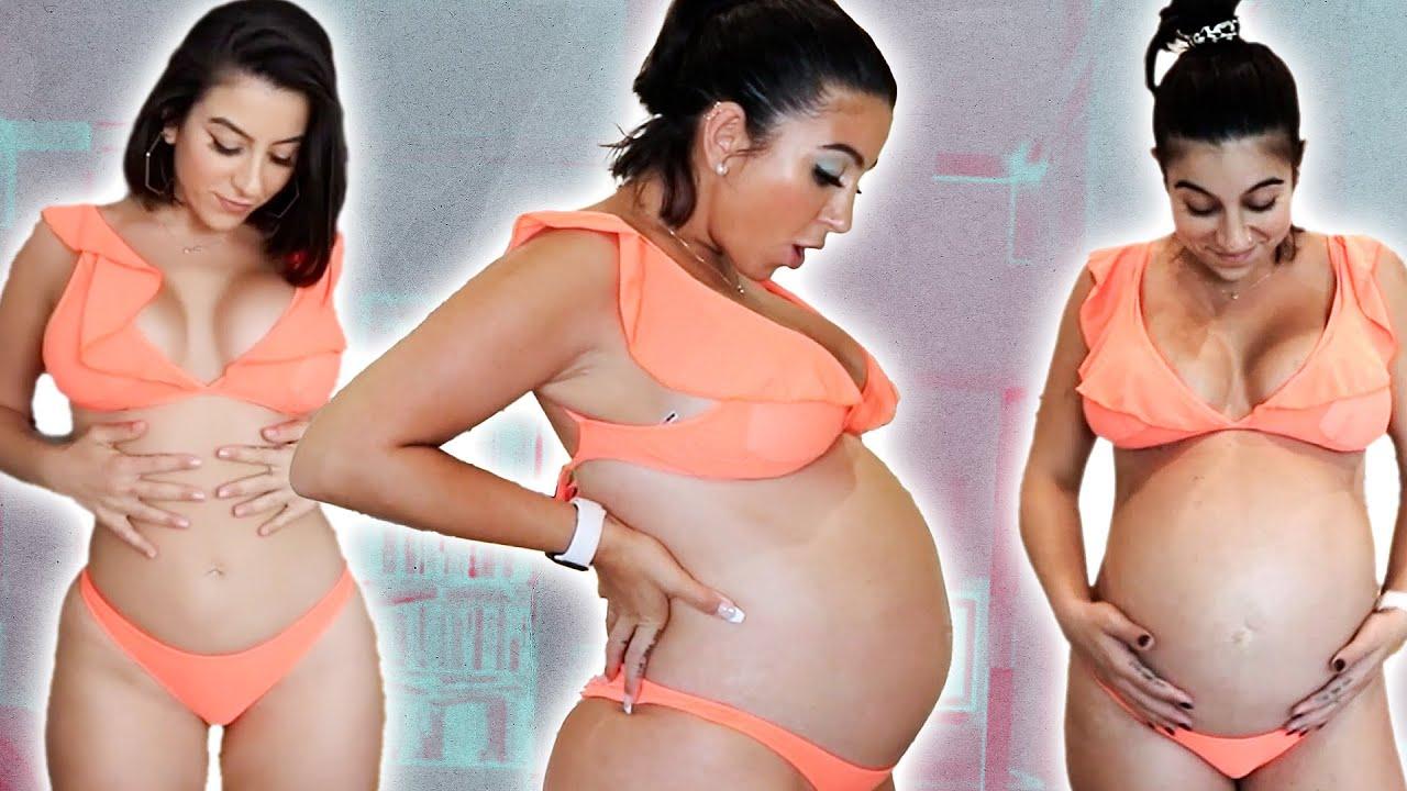 Pregnancy Transformation | Week 12 through 42 Progress