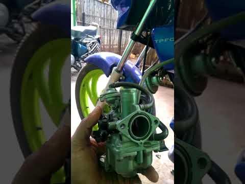 Cbz carburetor fresh cleaning