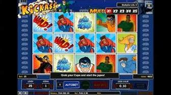 Kickass slot - 1x2 Gaming Kick A$$ casino game