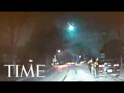 Watch A Meteor Streak Across The Sky In Illinois   TIME
