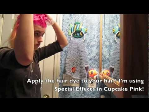 Bleaching & Dying my hair Special Effects Cupcake Pink