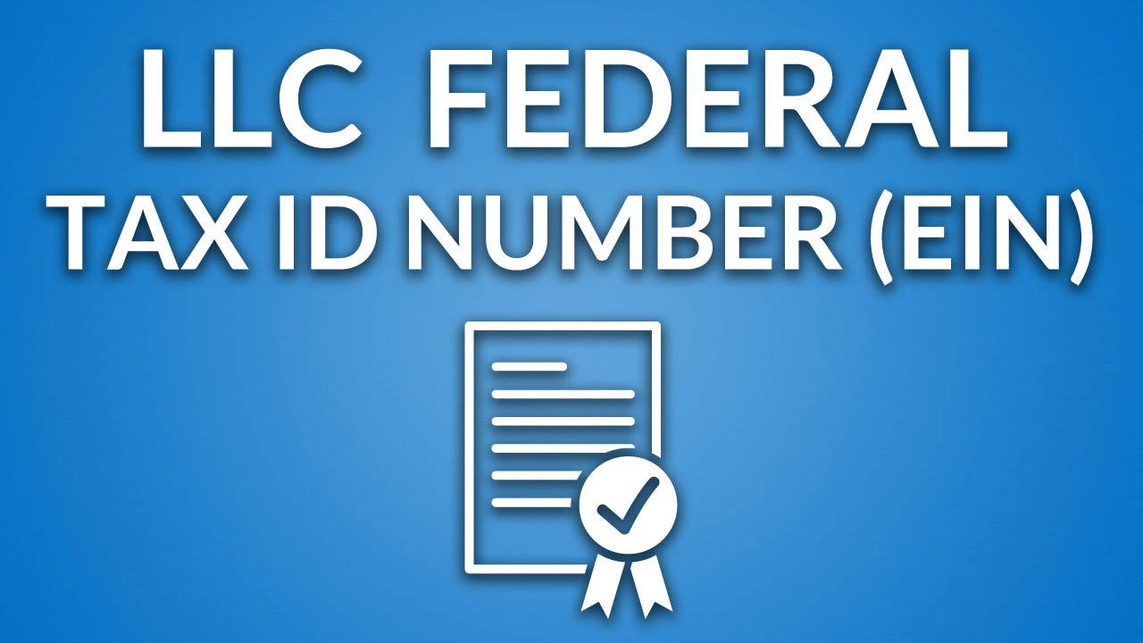 Image result for llc tax id number