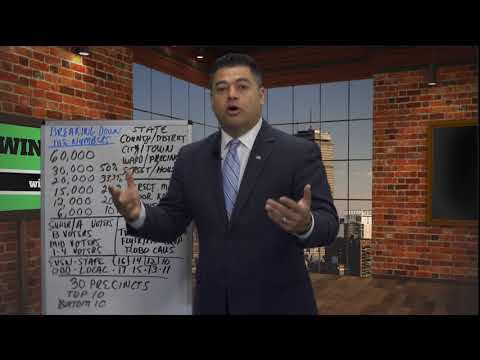 How to Win A Political Campaign; Breaking Down the Numbers