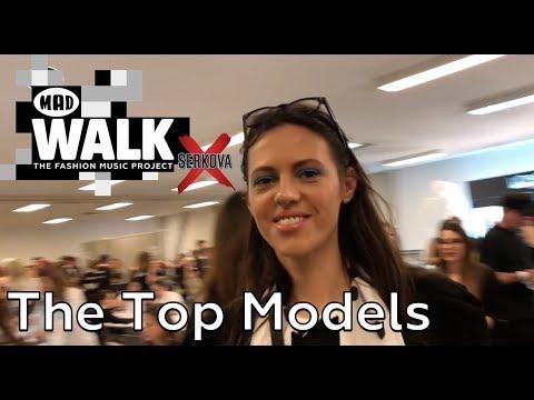 The Models   Backstage @ MadWalk 2018 by Serkova