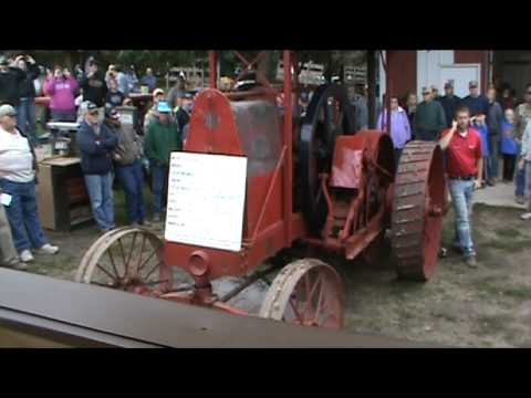 105-Year Old Tractor Sold for $170,000 on Minnesota Auction