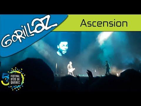 Gorillaz - Ascension | Live; Festival d'été de Québec (15-07-2017)
