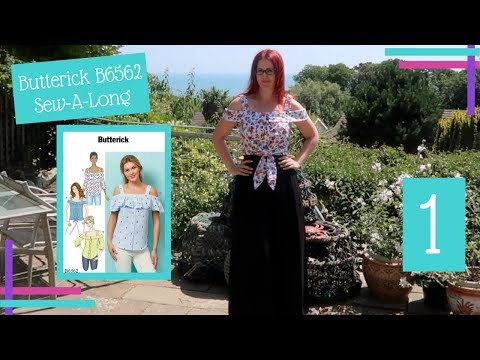 How To: : Butterick 6563 Sew-A-Long :: Part One :: Tracing & Altering The Pattern