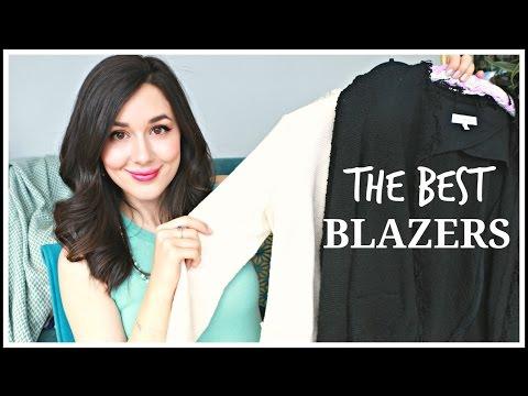 THE BEST BLAZERS | TOP 5 BLAZERS & TRY-ON