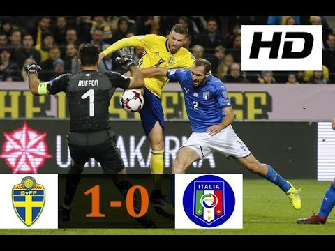 Sweden vs Italy 1-0 | All Goals & Highlights | World Cup Qualifiers 10/11/2017 HD