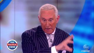Roger Stone On Russia Probe, Speaking To Trump About Comey Firing & More | The View