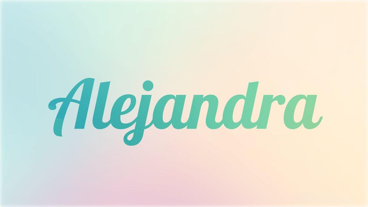Significado De Alejandra Nombre Griego Para Tu Bebe Ni O
