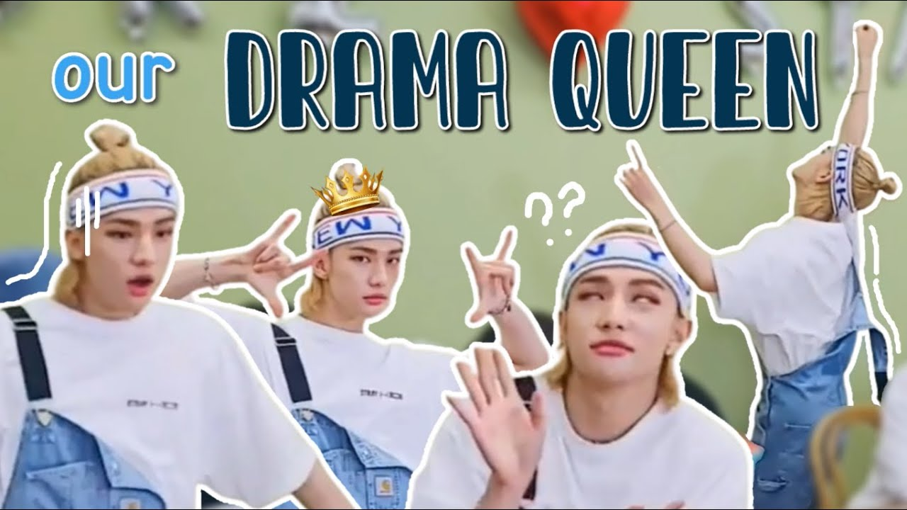 Download hwang hyunjin, the most dramatic member of stray kids