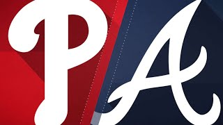 Braves' offense comes alive late in 8-3 win: 9/20/18