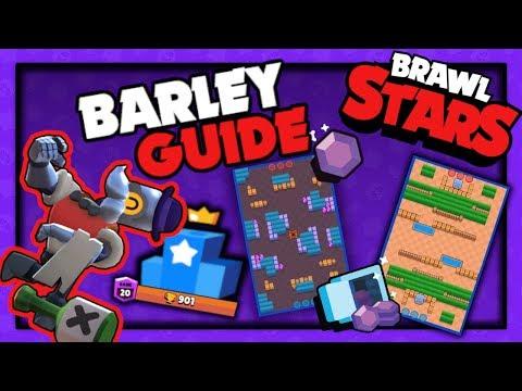 🤖 BARLEY GUIDE Brawl Stars | Landi Top 10 Global Spieler |