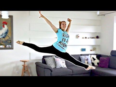 SPLIT JUMP IN ONE DAY!! 🤩 How to do a SPLIT LEAP/JETE TUTORIAL