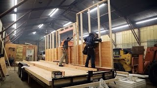 How To Build And Frame Tiny House Walls: Ana White Tiny House Build  Episode 3