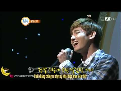 [Vietsub + Karaoke] Just Like That - Changmin solo