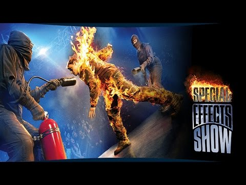 [4K] Special Effects Show (April 2017) - Universal Studios Hollywood