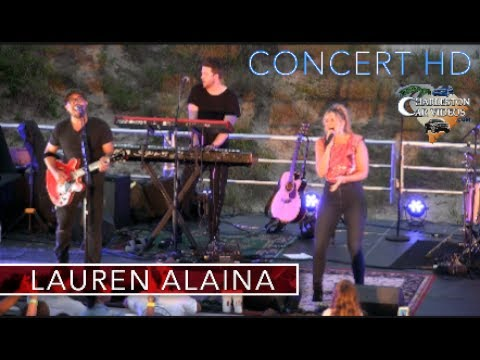 Full Ccert in HD  Lauren Alaina  2017  the Beach  Road Less Traveled and more!!!