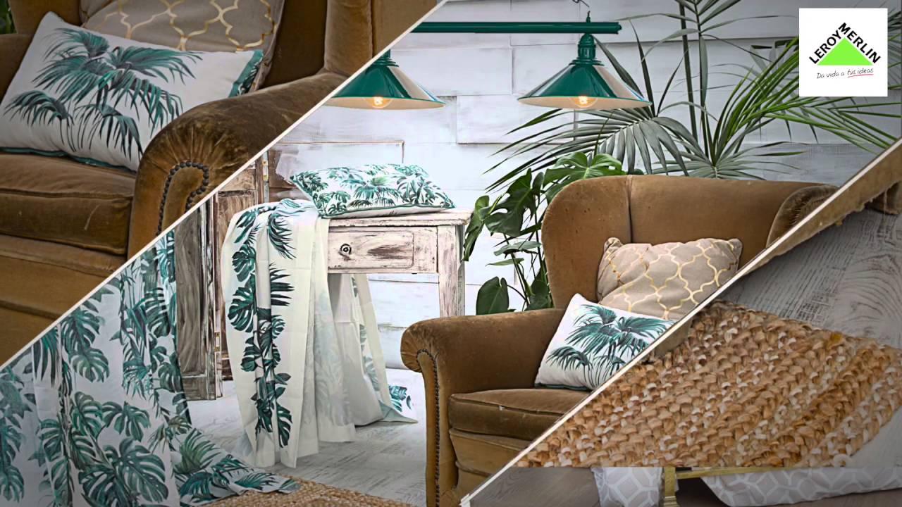 Papel Decoracion Leroy Merlin Affordable Presntacin Textil Para  ~ Murales Decorativos Leroy Merlin