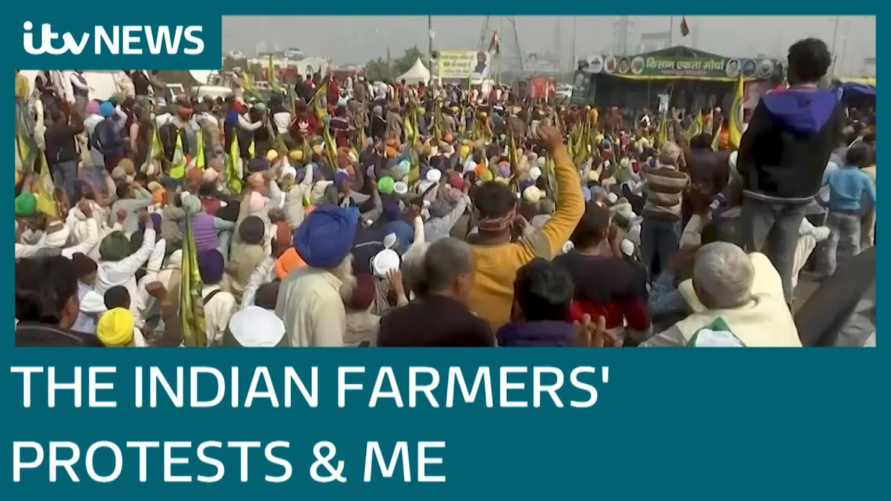 How the Indian farmers' protests are affecting British Indians | ITV News