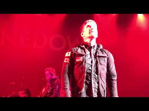 Shinedown - The Human Radio Birmingham Alabama 05 / 16 / 2018