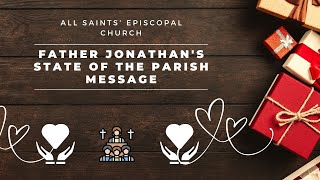 """Father Jonathan's State of the Parish Message"" 