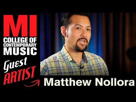 Matthew Nollora - Being A Live Sound Engineer