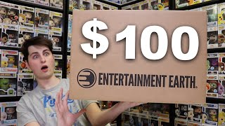 Entertainment Earth Sent A $100 Funko Pop Package!