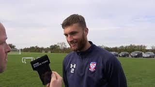 Tom Allan pre-match interview (V Blyth)