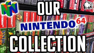 Our Nintendo 64 Collęction   Gaming Off The Grid