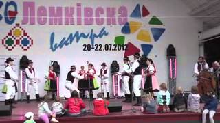 FS Ruthenia (30. Lemkiwska watra v Zdyni -- Poľsko)