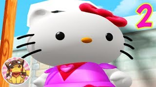 HELLO KITTY Roller Rescue - Gameplay Walkthrough Part 2 [1080p] No commentary