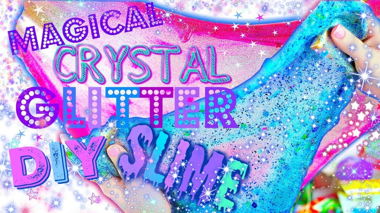 Make magical diy glitter slime make magical clear slime diy clear make magical diy glitter slime ccuart Image collections
